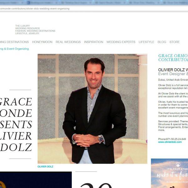 مجلة جريس أورموند لأنماط الزفاف - مجموعة خاصة للعضو البلاتيني